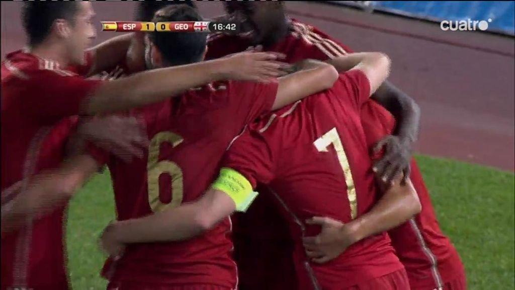 La pizarra de Celades funciona... ¡Conexión Asensio-Deulofeu y primer gol de la Sub-21!
