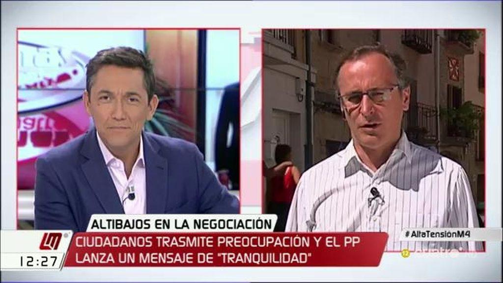 """Alfonso Alonso: """"Para no cometer injusticias hay que ver cada caso de corrupción"""""""
