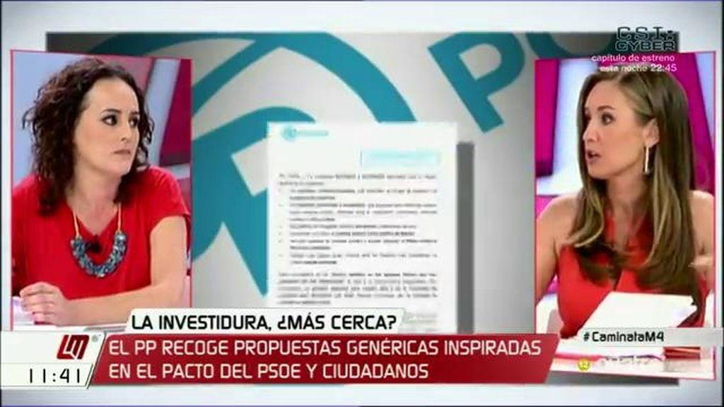 """Melisa Rodríguez (C's): """"Hemos ido a segundas elecciones por ser tercos y no tener visión de Estado"""""""