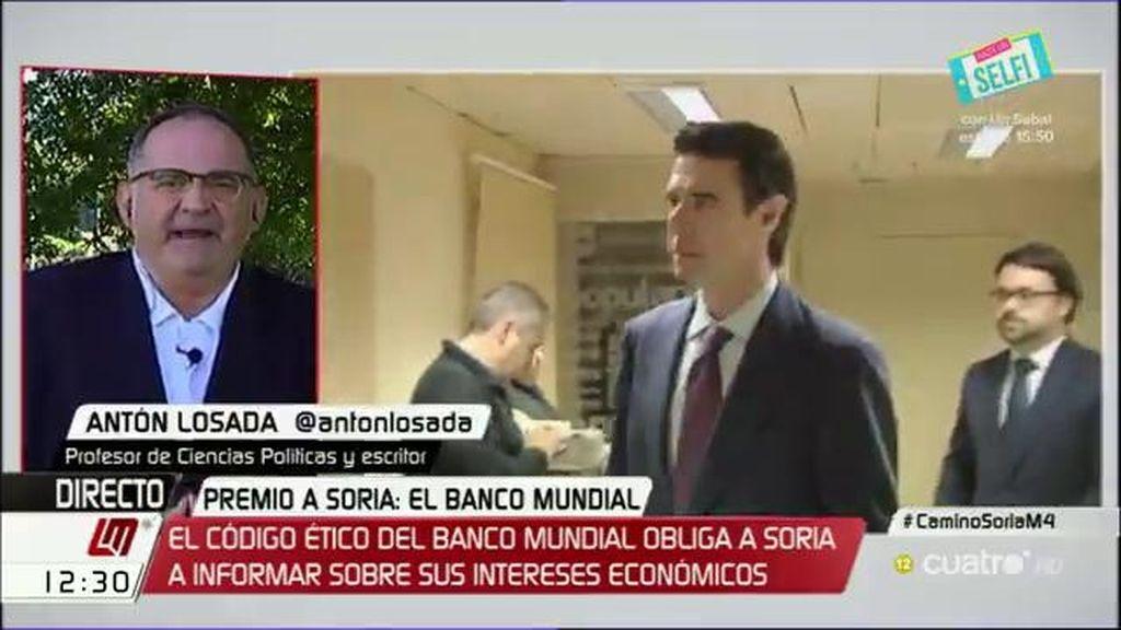 """Losada: """"Lo único que sabe regenerar el Partido Popular es la corrupción"""""""