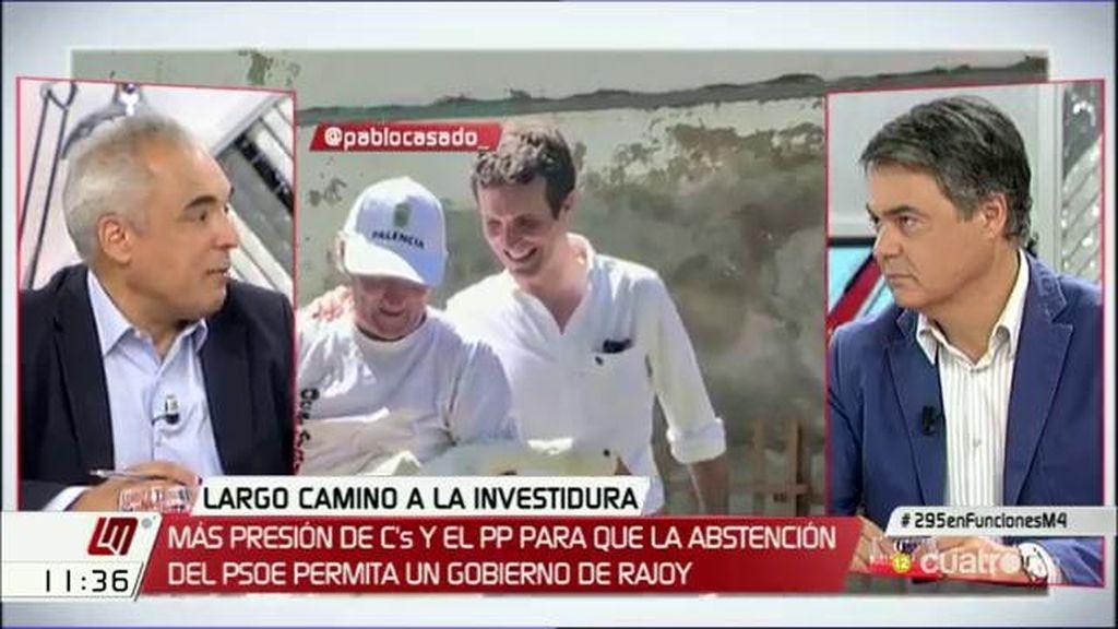 """Simancas, a C. Rojas: """"Queréis desarmar al PSOE y no vamos a caer en la trampa"""""""