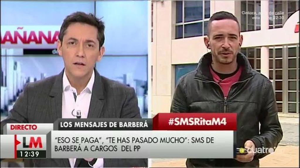 """Juan Nieto, diario 'El Mundo': """"Rita también ha enviado sms a los periodistas"""""""
