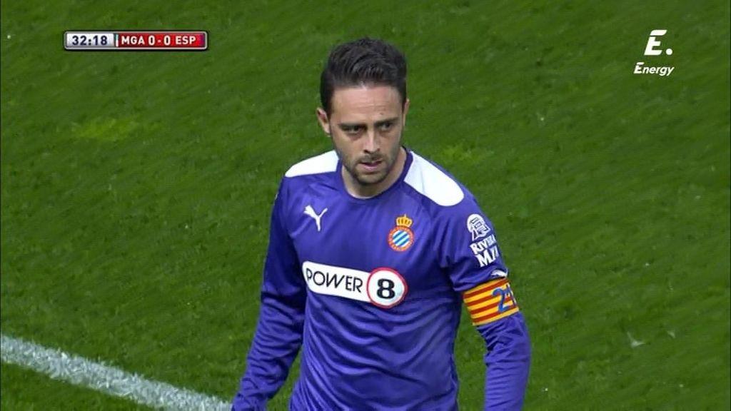 Sergio García inventa la jugada del partido: control de espaldas y sombrero al defensa