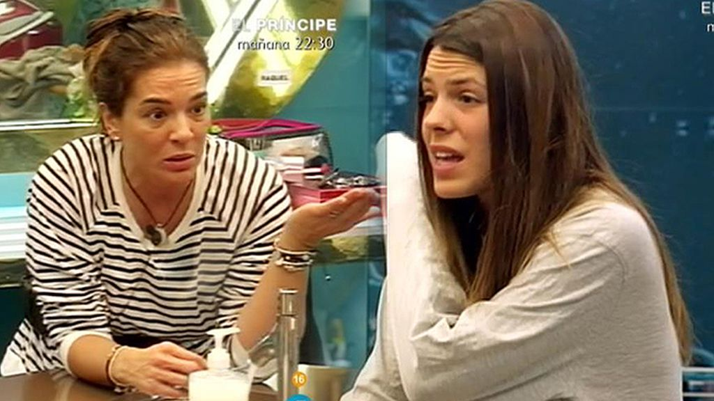 """Raquel, a Laura: """"No llevas razón"""""""
