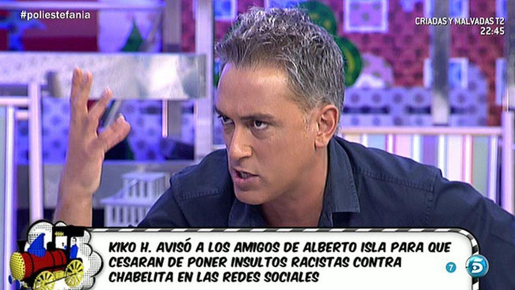 """Kiko H.: """"El objetivo que tiene Alberto Isla es sacar toda la porquería de Rosario"""""""