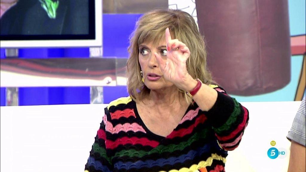 """Mª Teresa: """"Ni se me ocurriría decir que nadie es culpable de la vida de nadie"""""""