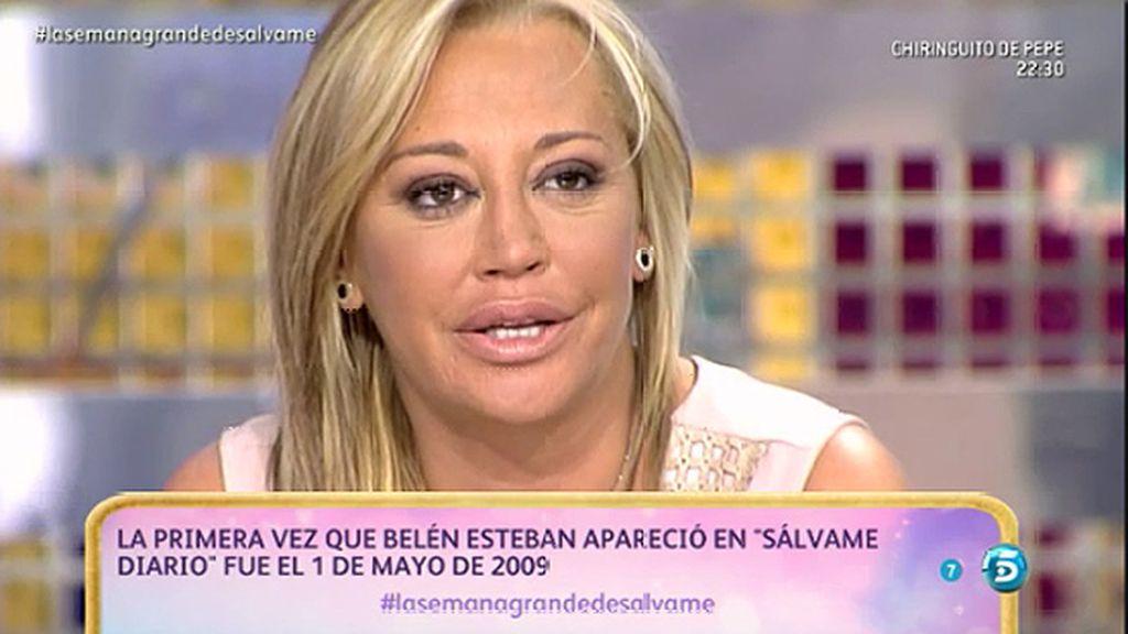 """Belén Esteban felicita a su novio por su cumpleaños: """"Me haces muy feliz"""""""