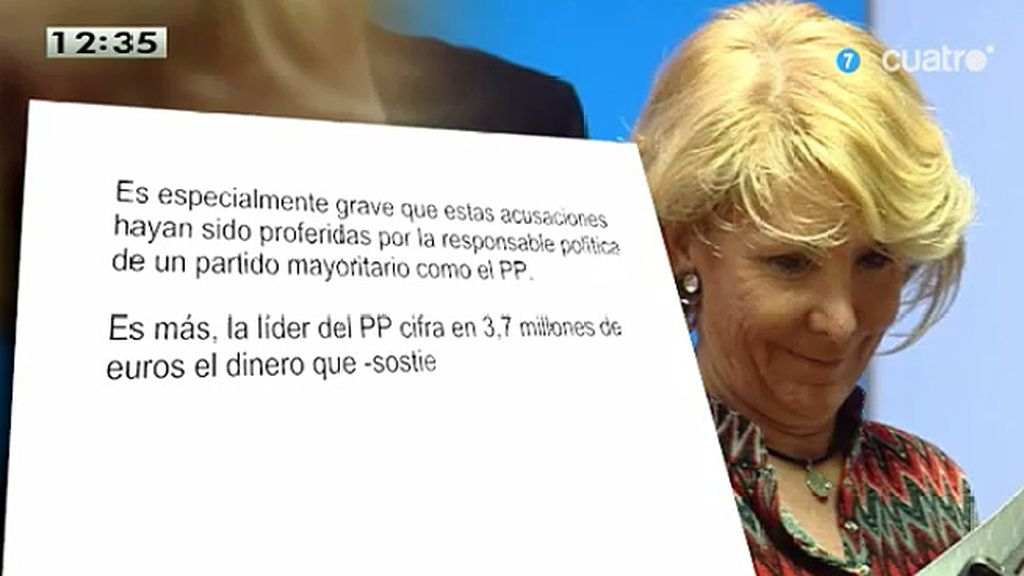 """Podemos cree que las declaraciones de Inda y Aguirre """"son injurias intolerables"""""""