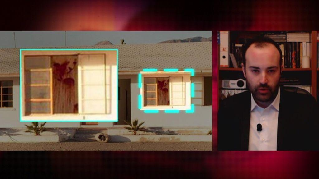 Un motel fantasma con paredes ensangrentadas, lo último viral en la red