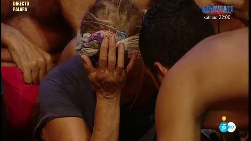 """El Equipo de Agua roba a Suso del Equipo de Fuego y Mila se derrumba: """"Yo me voy"""""""
