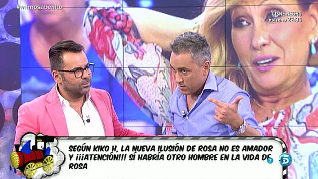 """Kiko Hernández, sobre 'el otro' de Rosa Benito: """"No es ni Leo ni Amador Mohedano"""""""