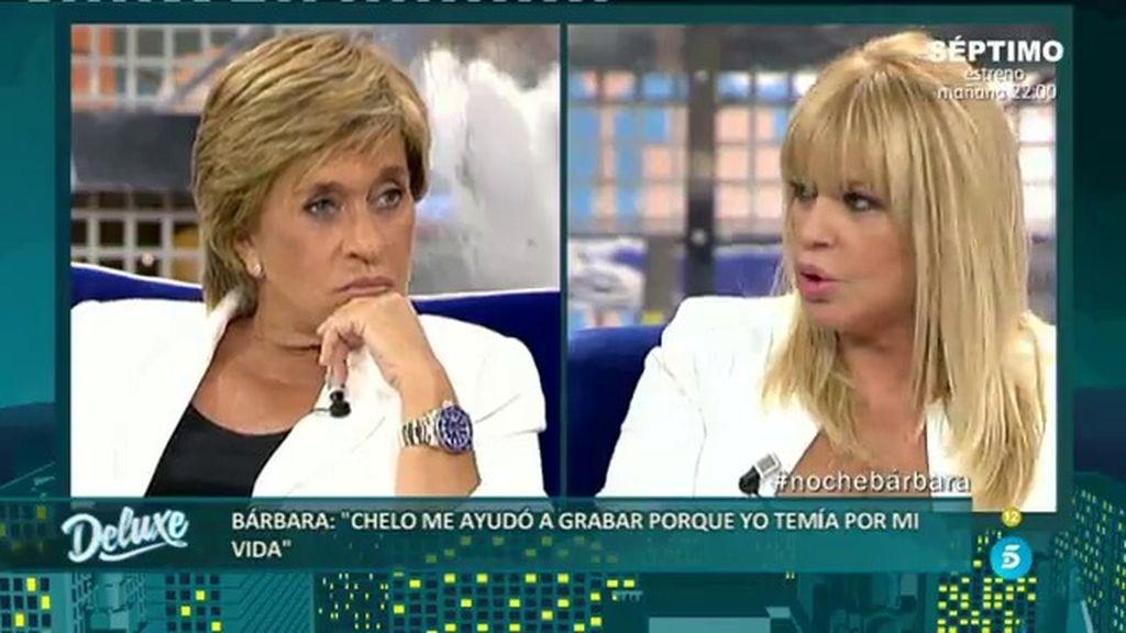 """Bárbara Rey, a Chelo: """"No sé si eras primeriza o no, pero sabías Latín"""""""