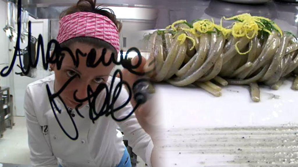 Marianna nos muestra su restaurante con estrella Michelín desde 2012