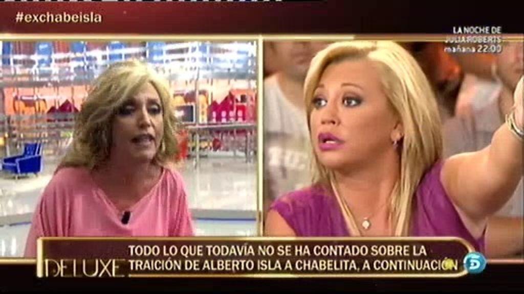 """Belén Esteban: """"No voy a permitir que al padre de mi hija se le acuse de maltratador"""""""