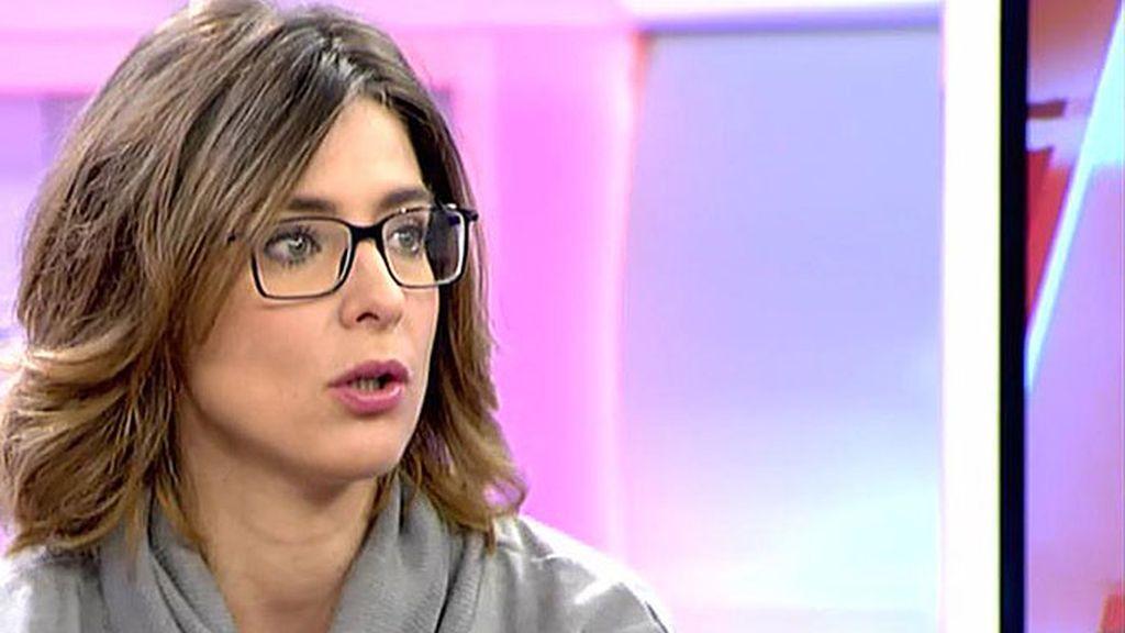 """Sandra Barneda: """"Creo que F. Nicolás es muy listo pero no sé si inteligente"""""""