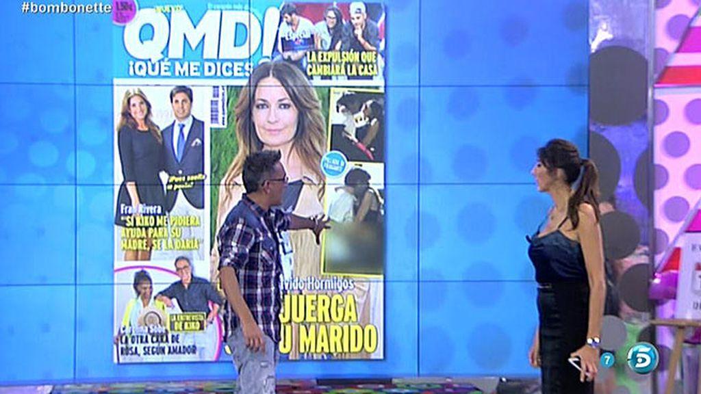 Las fotos más comprometidas de Olvido Hormigos, en la portada de 'QMD!'