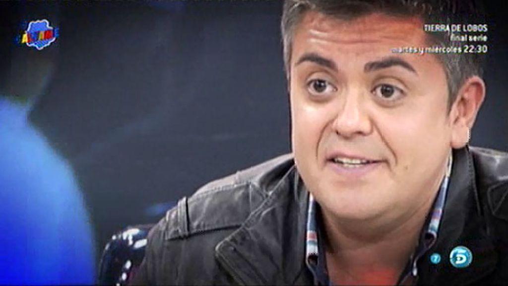 Diego Campanario sufre un accidente