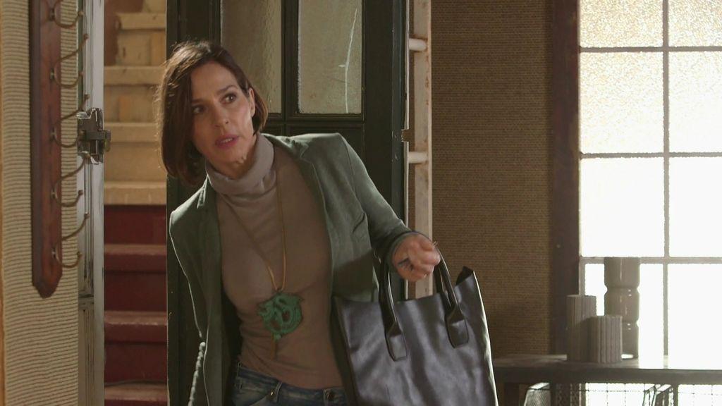"""Isabel, a Jorge:""""Esta no es tu casa y no puedes entrar aquí cuando quieras"""""""