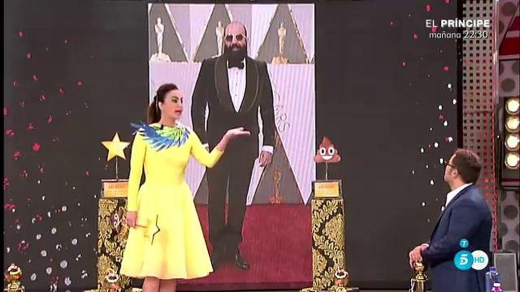 El mejor vestido de  'Los Oscar' fue Paco Delgado, según Cristina Rodríguez