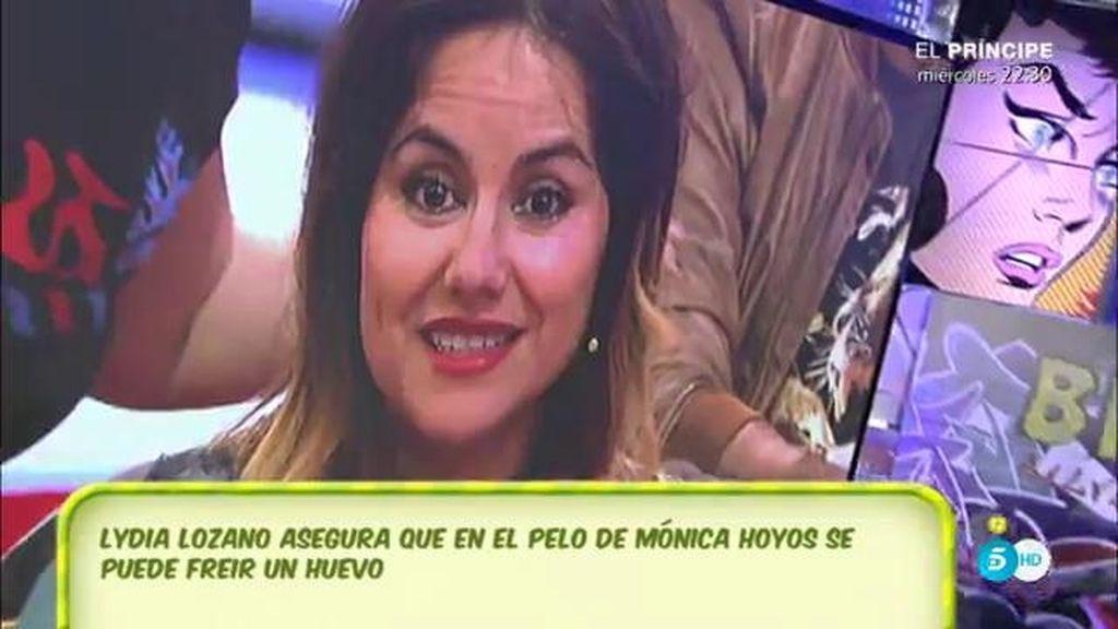"""Lydia Lozano, a Mónica Hoyos: """"Que coja pista y que se lave el pelo"""""""