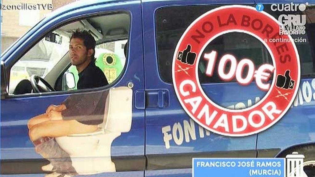 'Creativo al volante, peligro constante' se lleva los 100 euros