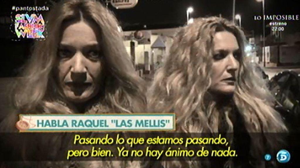 """Raquel, de 'Las Mellis', sobre el ingreso de Pantoja en prisión: """"La espera es lo peor"""""""