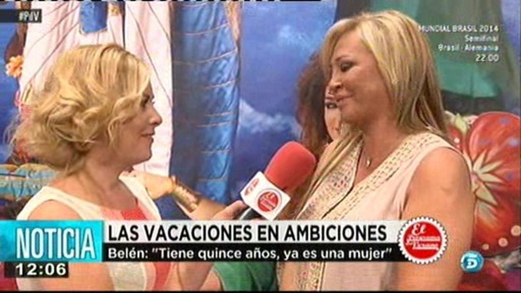 """B. Esteban: """"Mi hija está feliz en Ambiciones"""""""
