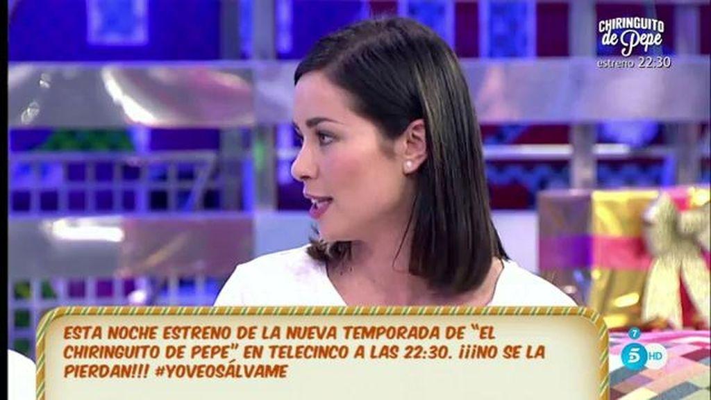 """Dafne Fernández, actriz de 'El chiringuito de Pepe': """"Yo he salido como una cocinera"""""""