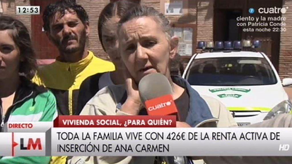 Una mujer maltratada con 5 hijos, denuncia que no le han dado una vivienda social