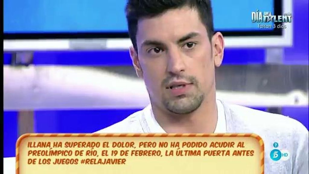 """Javier Illana: """"Creo que aunque me dijeran que no puedo saltar, yo iba a seguir"""""""