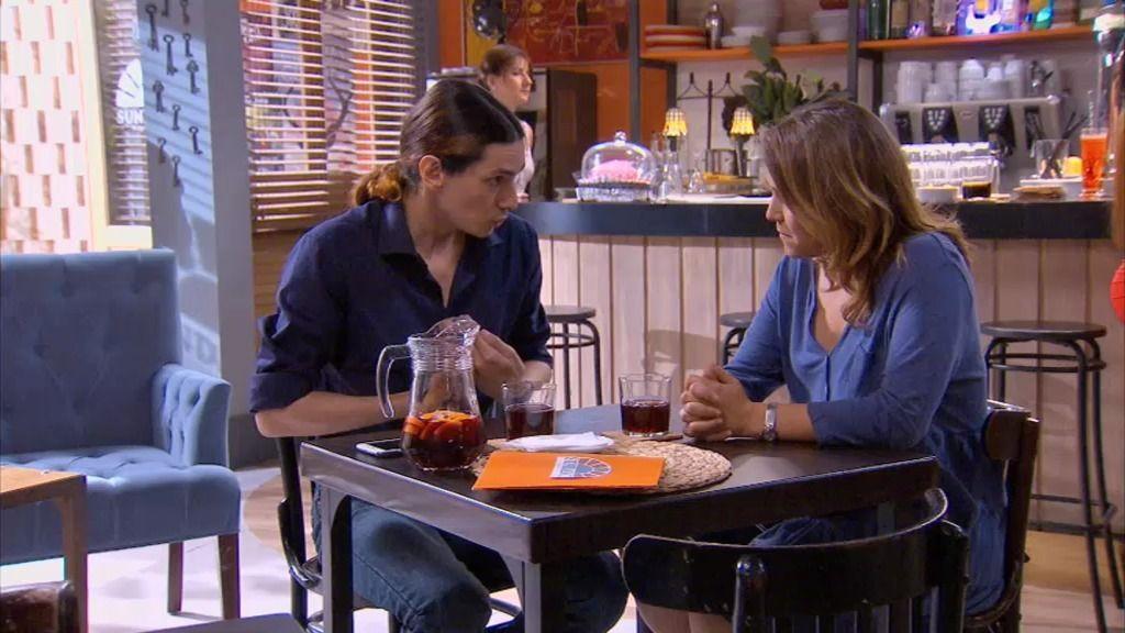 """Sebastián, a Lucía: """"Físicamente eres un suspenso alto"""""""