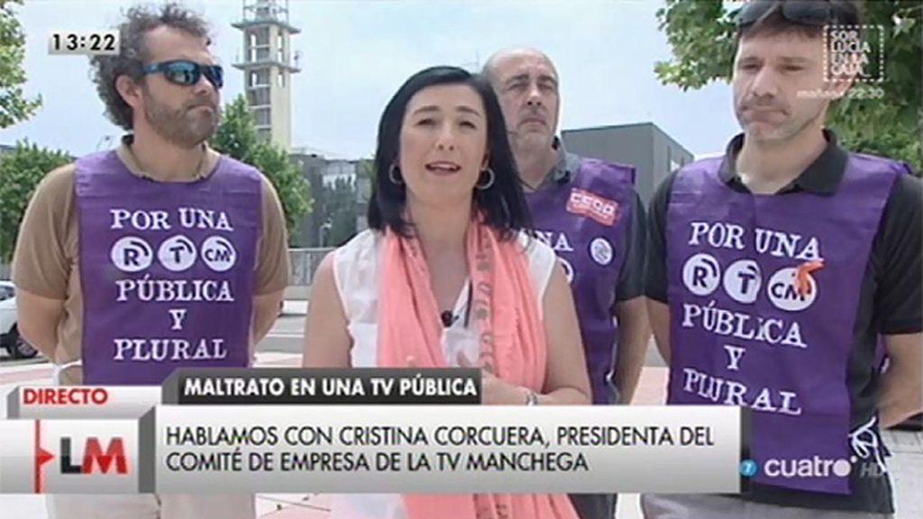 """Cristina Corcuera: """"Hemos pedido el cese de Victoria Vigón"""""""