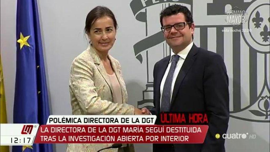La directora de la DGT presenta su dimisión
