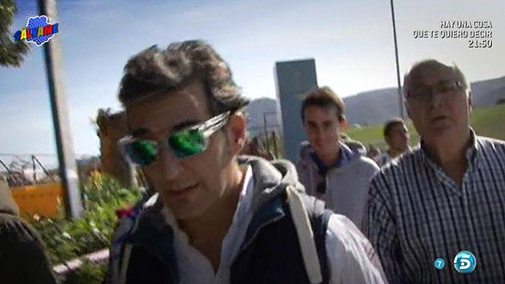 Fernando se sincera en 'Facebook' sobre sus encuentros con Mayte Zaldívar en la cárcel