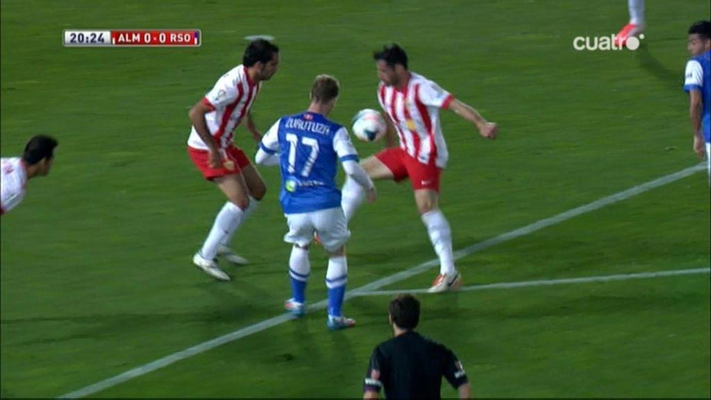 Gol de Vela (Almería 0-1 Real Sociedad)