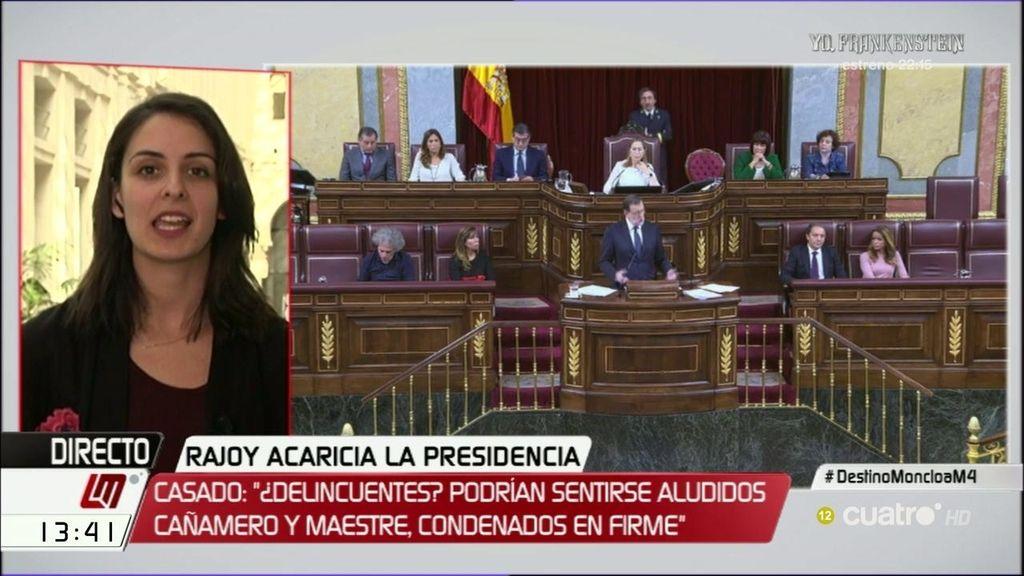 """Maestre, a Casado: """"A nosotros nadie nos ha acusado de robar el dinero de los españoles"""""""