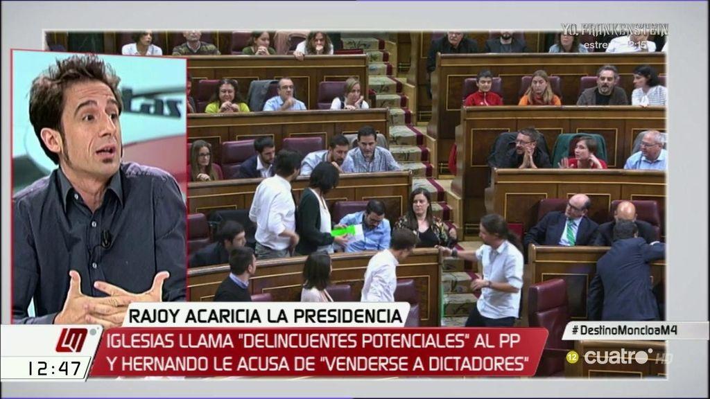 """Javier Gallego: """"La organización criminal ya tiene un matón que es Hernando"""""""