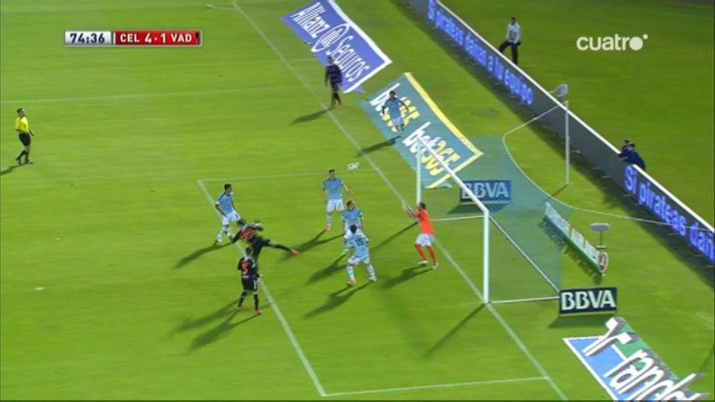 Gol de Manucho (Celta 4-1 Valladolid)
