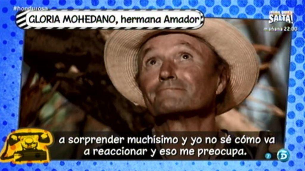 Gloria Mohedano teme la reacción de Amador al reencontrarse con Rosa en 'SV'