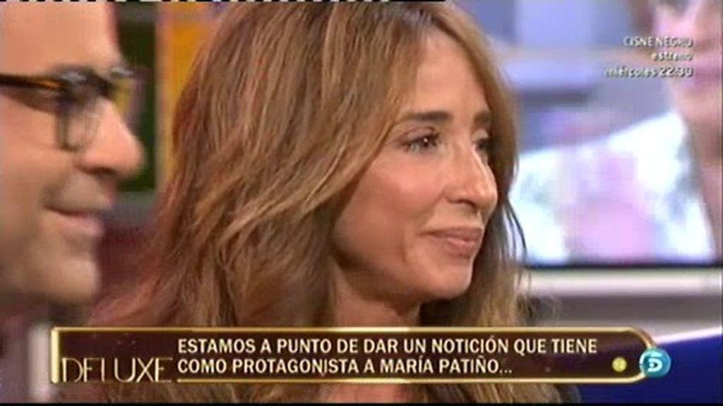 ¡¡María Patiño sustituirá a Jorge Javier en verano como presentadora del 'Deluxe'!!