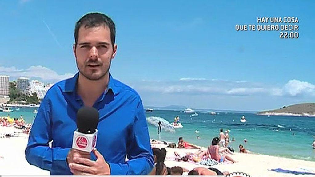 Dos jóvenes heridos en Ibiza y en Mallorca tras precipitarse de una terraza de un hotel
