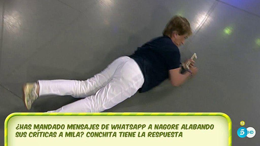 Chelo Gª Cortés no ha 'jaleado' las críticas de Nagore Robles a Mila Ximénez, según el Poli