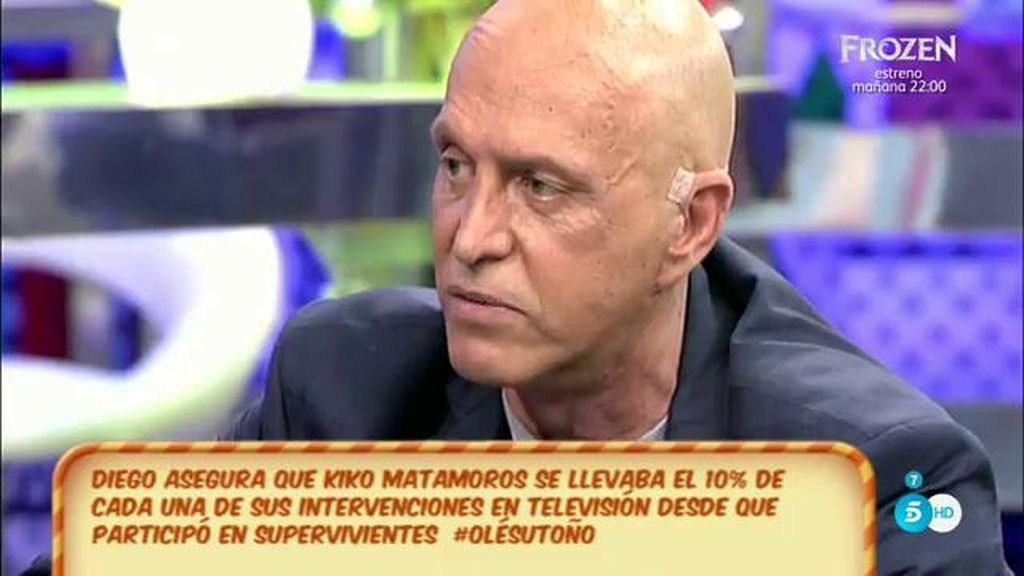 Matamoros desmiente a su hijo y afirma que devolvió a Sanchís el dinero que le prestó