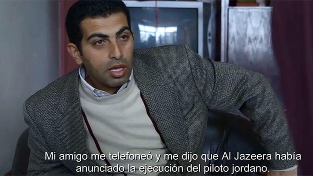 """Jawdat Alkasassbeh, hermano del piloto jordano: """"Quiero venganza"""""""