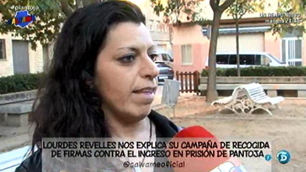 """Lourdes Revelles, fan de Pantoja: """"Llegaría a donde fuese para hacer justicia"""""""