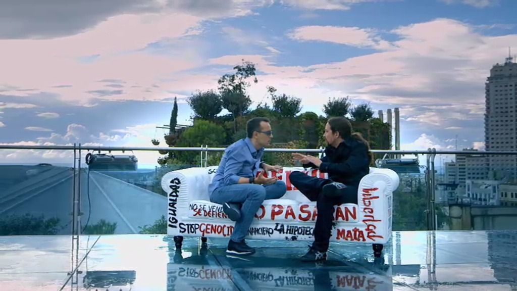 """Risto Mejide, a Pablo Iglesias: """"La etiqueta casta es un insulto"""""""