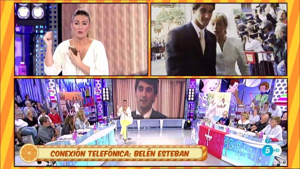 "Belén Esteban entra por teléfono: ""Nunca le he prohibido ver a su hija, al contrario"""