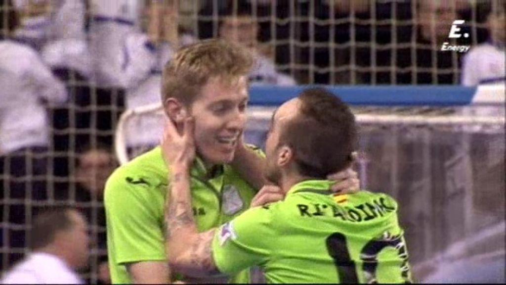 Batería marca el gol de su vida en el último segundo de la final de la Copa de España