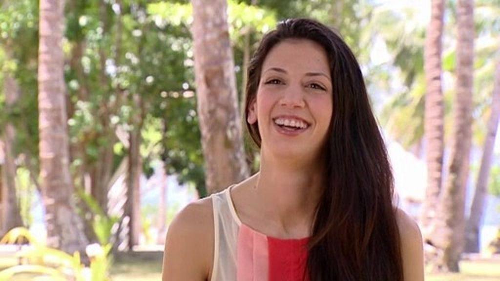Raquel, una miss 'todoterreno' en el Paraíso