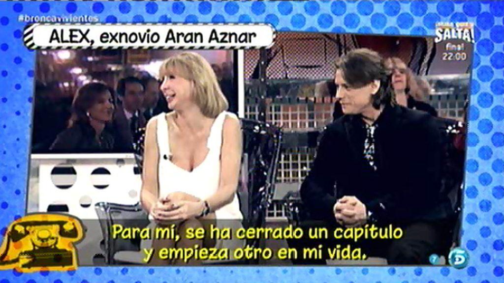 """El exnovio de Aran no quiere retomar su relación: """"Para mí se ha cerrado un capítulo"""""""